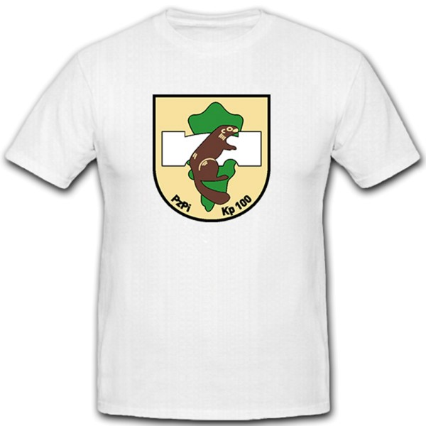 PzPiKp 100 Panzerpionierkomanie Panzer Komoanie Bataillon - T Shirt #10861