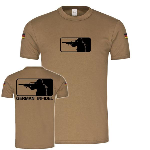 BW Tropen German Infidel Liga der Ungläubigen ISAF BW Soldat Major Shirt #19440