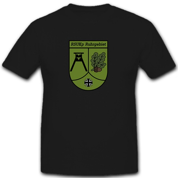 RSU Kp Ruhr Area Regional Security and Support Forces Tee Shirt # 10604