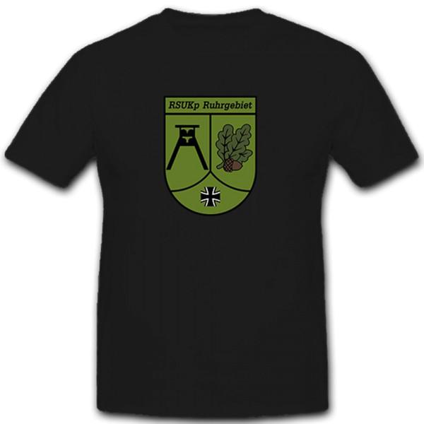 RSU Kp Ruhrgebiet Regionale Sicherungs- und Unterstützungskräfte T Shirt #10604