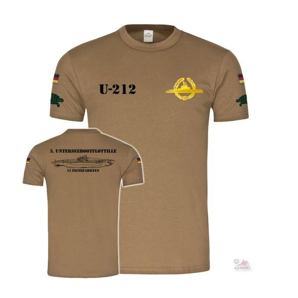 BW Tropics U-212 Submarine Badge Occupational Badge Navy Federal Navy # 27829