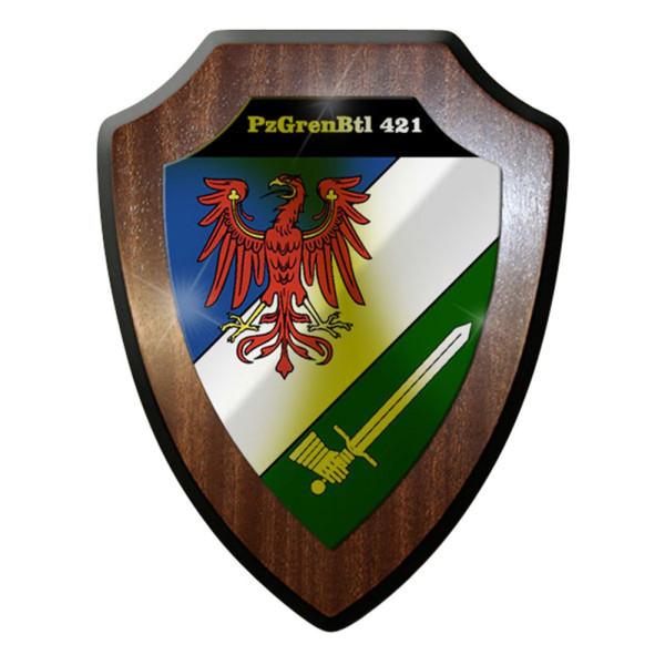 Wappenschild - PzGrenBtl 421 Panzergrenadierbataillon 421 Bundeswehr #12648