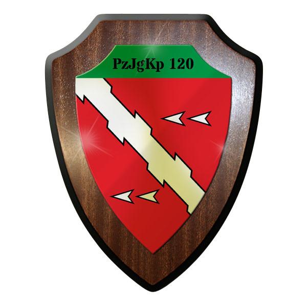Wappenschild - PzJgKp 120 Panzerjägerkompanie Panzerjäger Bund Emblem - #11734