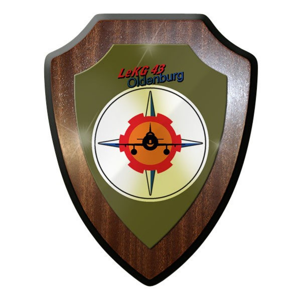 Wappenschild - LeKG 43 Leichtes Kampfgeschwader 43 Luftwaffe Jagdbomber - #11730
