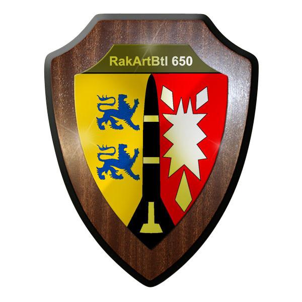Wappenschild - RakArtBtl 650 Raketenartilleriebataillon Bund Emblem #10022