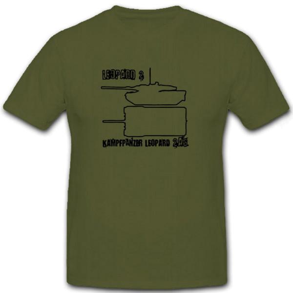 Leopard 2A5 Blueprint TZ - T Shirt #6971