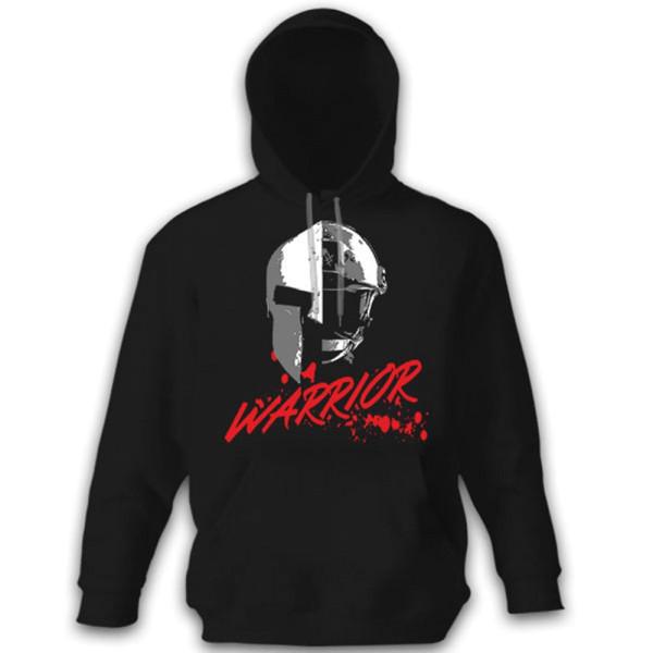 WARRIOR Soldier Sparta Warrior Fighter US United States Military - Hoodie # 11120