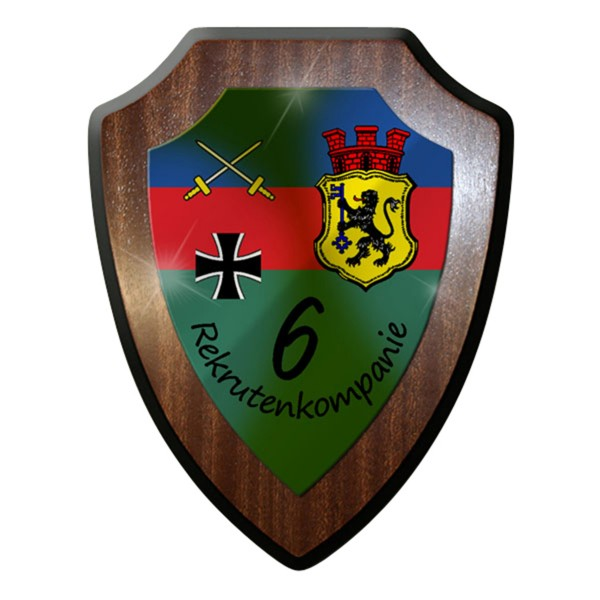 Wappenschild / Wandschild - 6 Kompanie Donnerberg Kaserne 6 Wappen #7316