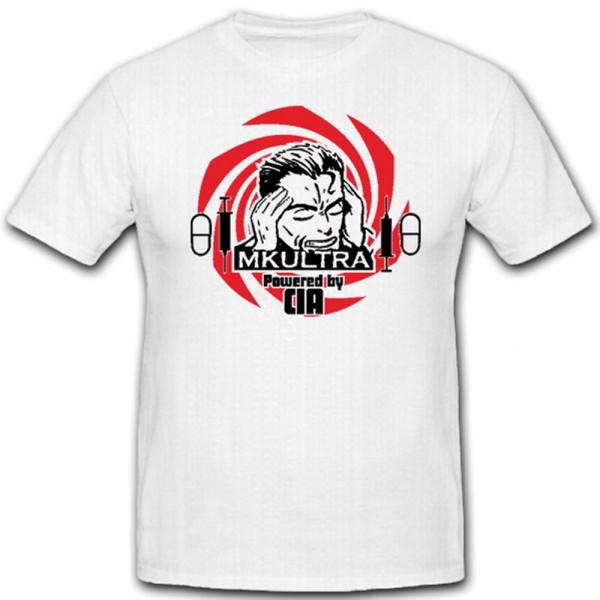 MKULTRA CIA LSD Drogen USA Amerika Bewusstseinskontrolle Geheim - T Shirt #12792