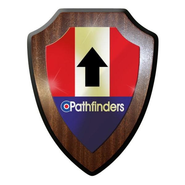 Wappenschild - Pathfinders Pfadfinder British England Great Britain #11696