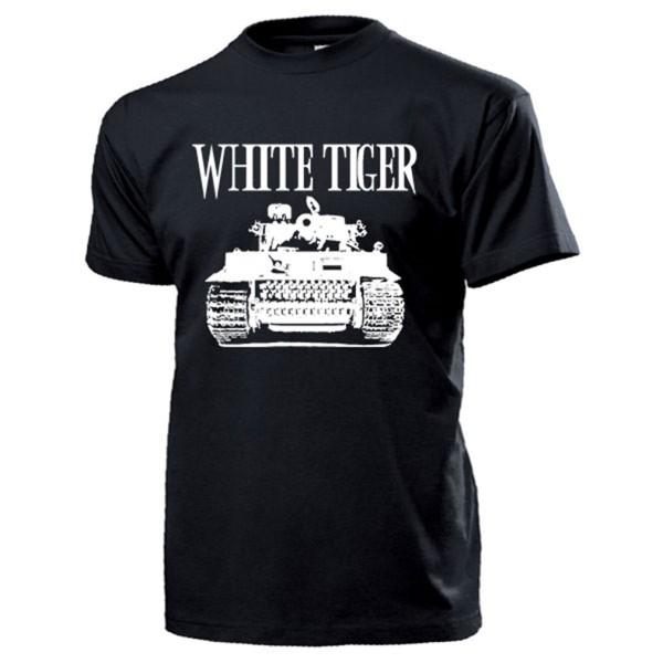 White Tiger Panzer WH WK2 WW2 Kino Film Russland Kampfpanzer - T Shirt #14195