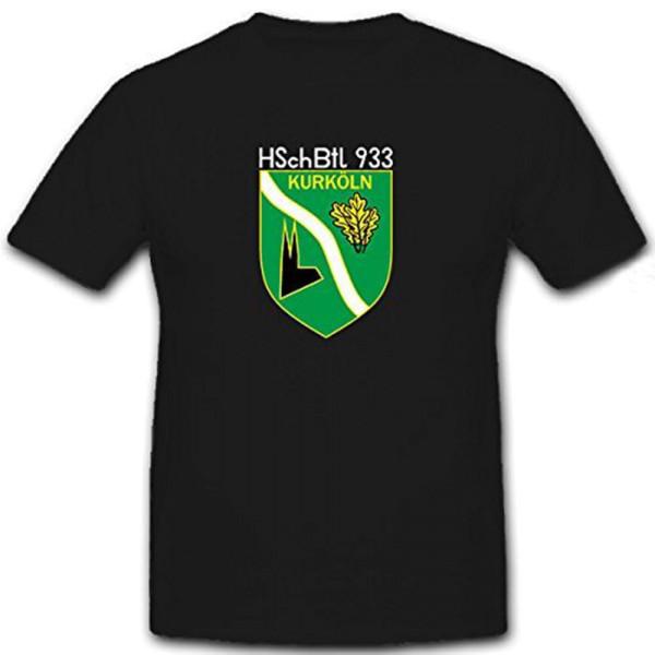 HSchBtl 933 Homeland Security Battalion KurKöln Bundeswehr Bund - T Shirt # 12310