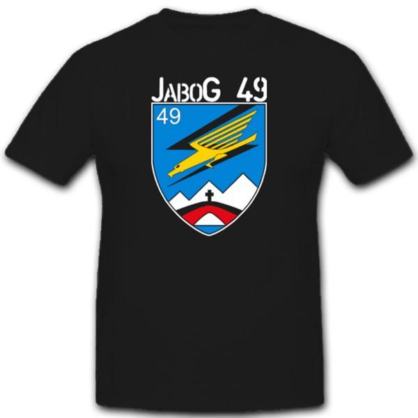 Luftwaffe Bundeswehr Wappen Logo Jabog 49 Jagdbombergeschwader T Shirt #2602
