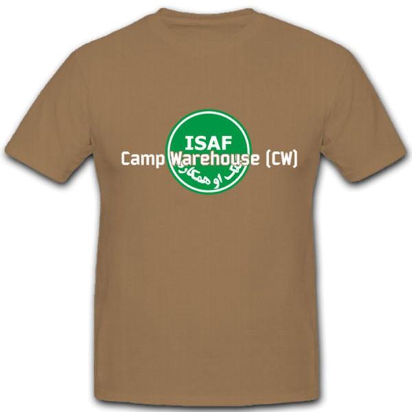 Isaf Camp Warehouse Lager Bundeswehr - T Shirt #4296