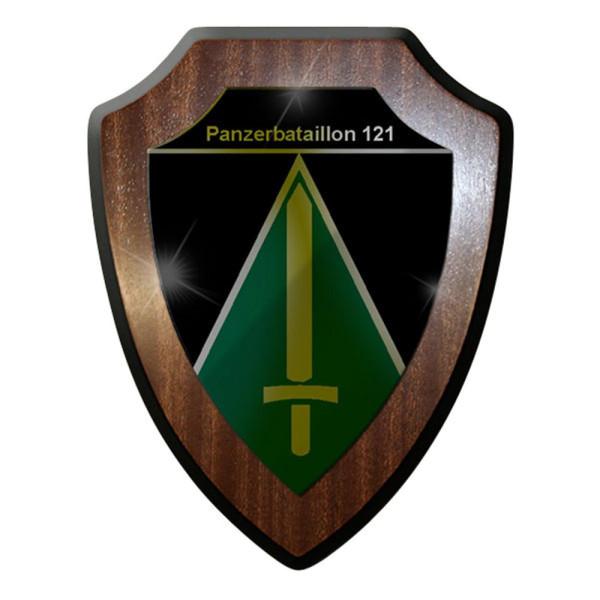 Wappenschild / Wandschild / Wappen - Panzerbataillon PzBtl 121 Bundeswehr #8331