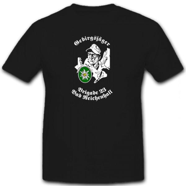 Mountaineer Brigade 23 Bad Reichenhall Germany - T-shirt # 12418