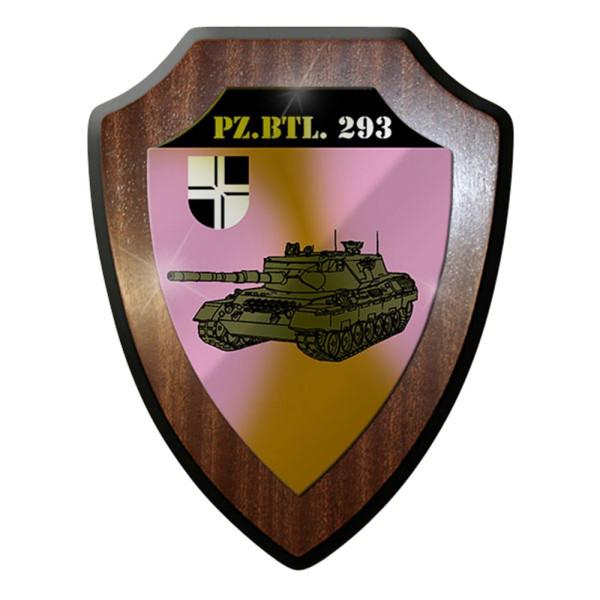 Wappenschild / Wandschild / Wappen -Pzbtl 293Kompanie Stetten #8024