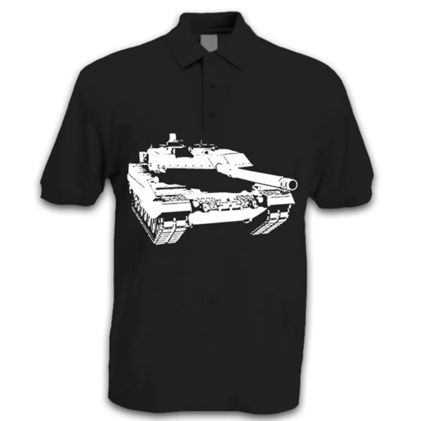 Leo 2 A6 Panzer Bundeswehr Leopard Kampfpanzer PzBtl Tank BW - T Shirt #14256