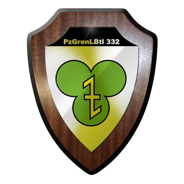 Wappenschild PzGrenLBtl 332 Panzer Grenadier Lehr Bataillon Grenadiere Bw #9350