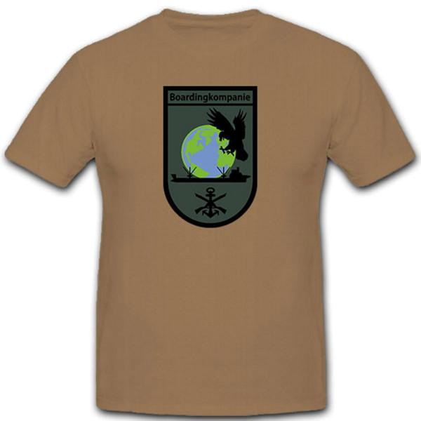 Boarding Company Bundeswehr Marine SEK M Germany - T Shirt # 12596