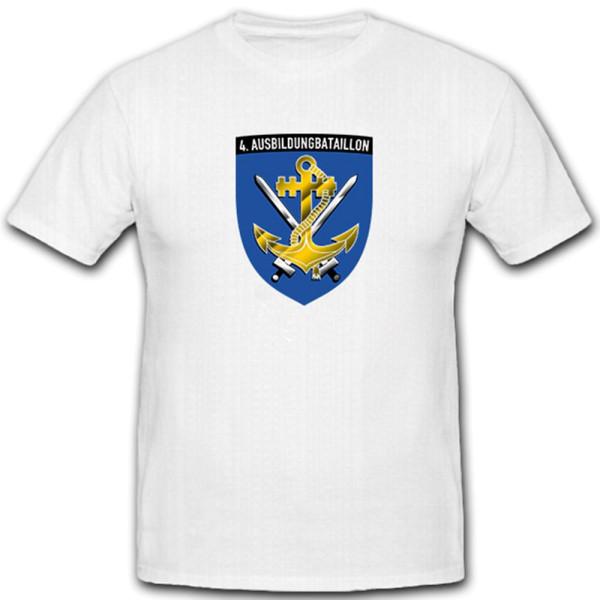 4. Marineausbildungsbataillon deutsche Marine WK 2 Matrose Wappen T Shirt #5272