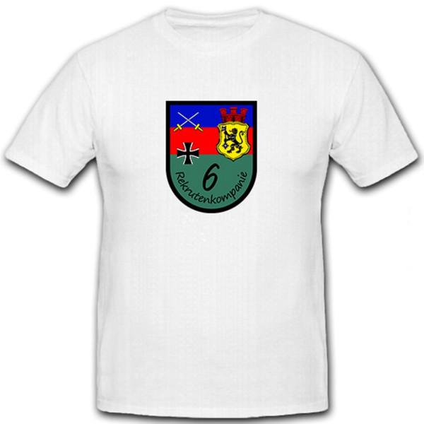 Rekrutenkompanie 6 Donnerberg Kaserne Eschweiler- T Shirt #6342