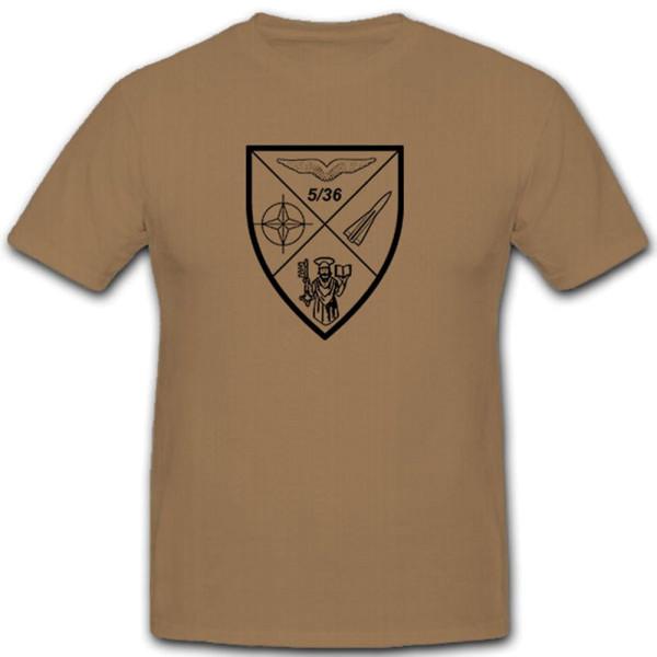5./FlaRakBtr 36 anti-aircraft missile defense defense anti-aircraft T-shirt # 10505