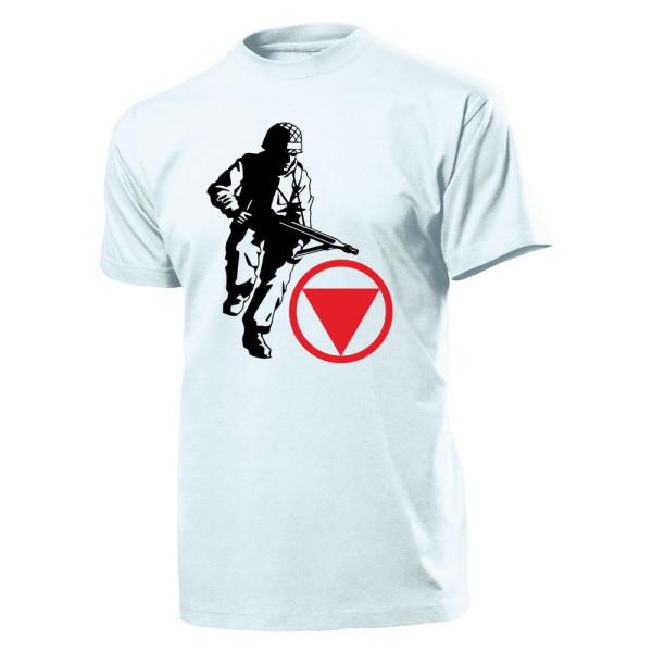 Soldier Bundesheer Austria Military MG Weapon Machine Gun - T Shirt # 11351
