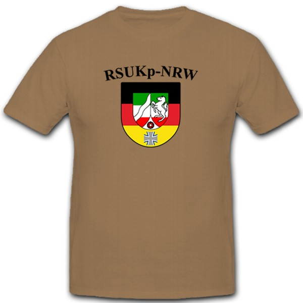 RSU Kp NRW Regional Security and Support Company Company Tee Shirt # 10608