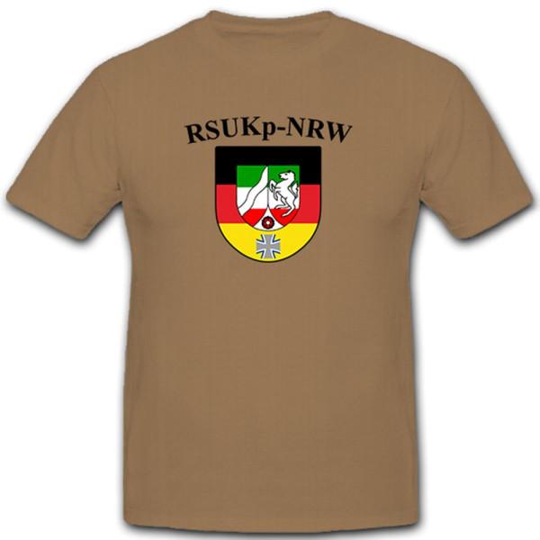 RSU Kp NRW Regionale Sicherungs- und Unterstützungskräfte Kompanie T Shirt#10608