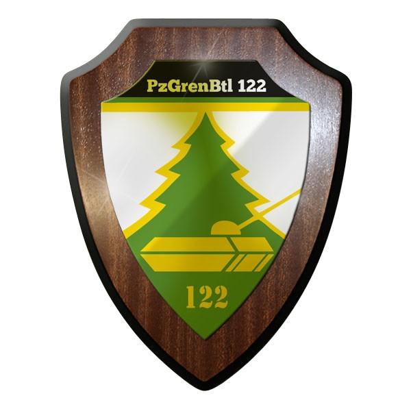 Wappenschild - PzGrenBtl 122 Panzergrenadierbataillon Bataillon 122 #8833