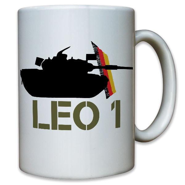 Leo 1 Leopard Panzer Panzertruppe deutscher Kampfpanzer Bund Bw - Tasse #10129