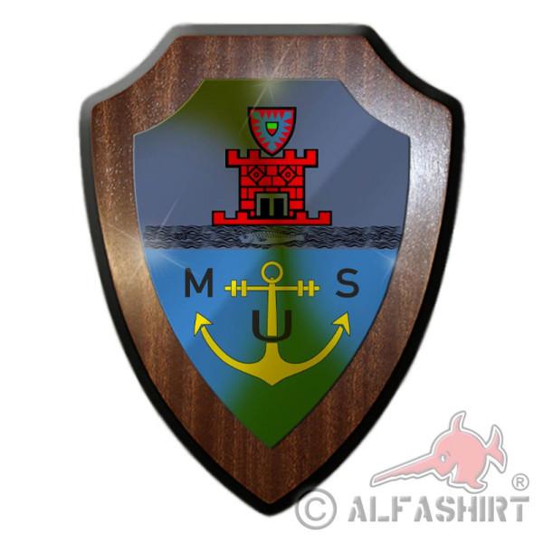 Wappenschild Marineunteroffizierschule Plön MUS Marine Wappen Marine #36547