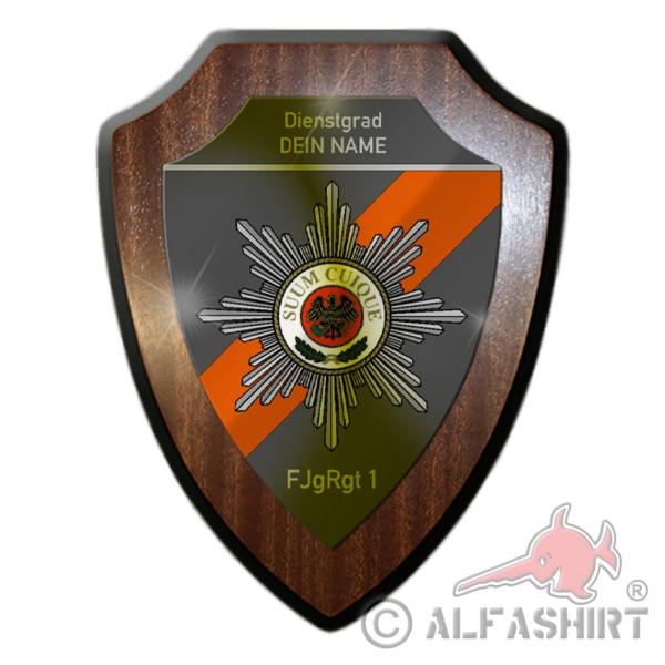 Wappenschild Feldjägerregiment 1 FJgRgt 1 Bundeswehr Feldjäger MP #36218