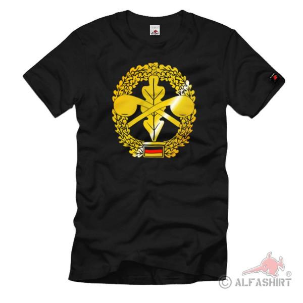 Barettabzeichen ABC Abwehrtruppe Abwehrkommando Bundeswehr T-Shirt #1094