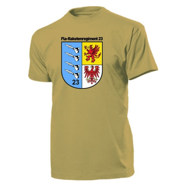 FRR 23 Fla Raketenregiment 23 DDR NVA Militär Wappen Emblem - T Shirt #10626