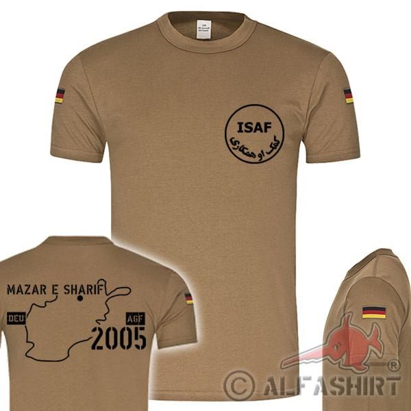 BW Tropenshirt Mazar e Sharif 2005 Bundeswehr Auslandseinsatz Koningent #17881