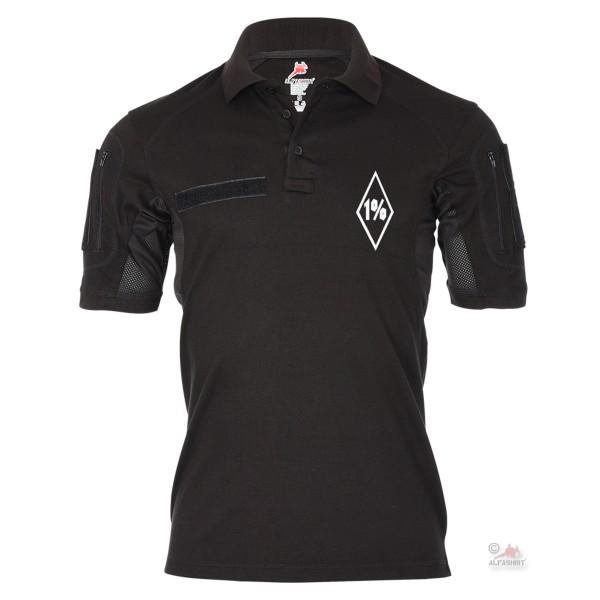 Tactical Polo Shirt 1% Outsider Outlaw Motorcyclist Brotherhood # 19075