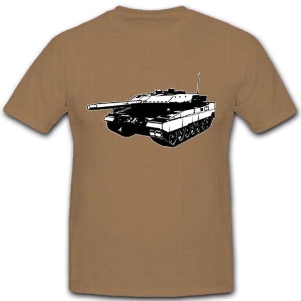 Leo 2A5 Kampfpanzer Panzer Leopard Bataillon Kompanie - T Shirt #5058