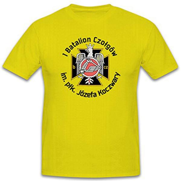 1 Batalion Józefa Koczwary Polska Jednostka - T Shirt #12425