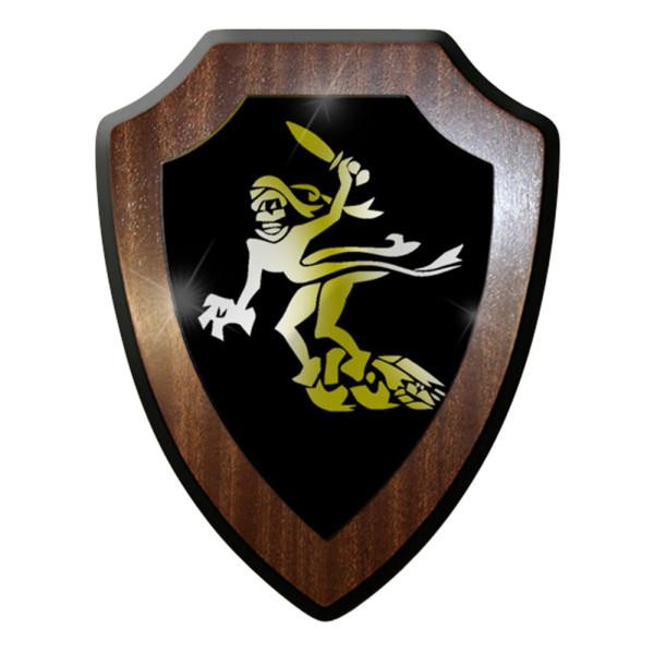 Wappenschild / Wandschild - Gespensterdivision GespDiv Gespenst Bataillon #6911