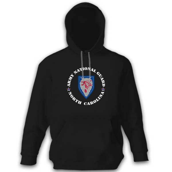 North Carolina Army National Guard US Crest Hoodie # 10655