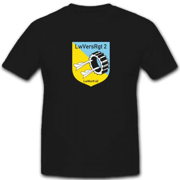 LwVersRgt 2 LwWerft 62 Luftwaffenversorgungsregiment T Shirt #5273