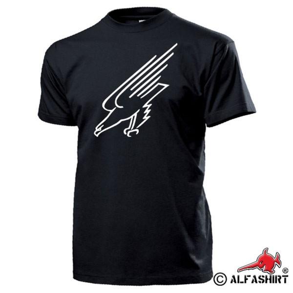 Fallschirmjäger Adler Wappen Abzeichen BW Luftwaffe Grüne Teufel T Shirt #16316