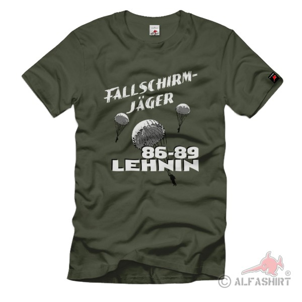 Fallschirmjäger LEHNIN Fallschirmspringer DDR NVA Nationale T-Shirt#36217