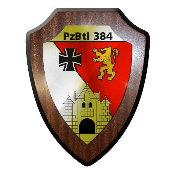 Wappenschild Panzerbataillon PzBtl 384 Leopard Kampfpanzer Panzer Bataillon#9317