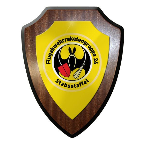 Wappenschild - StabStaff FlaRakGrp 24 Flugabwehrraketengruppe 24 #11984