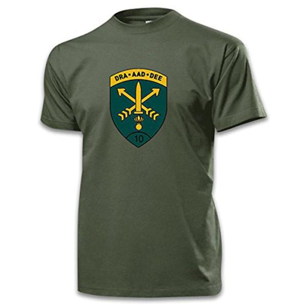 10InfDiv Infanterie Division Militär Deutschland Regensburg - T Shirt #10270