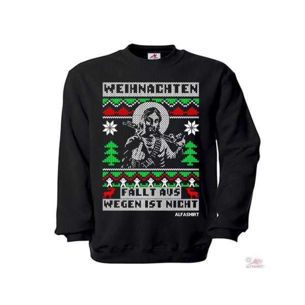 Pullover Weihnachten fällt aus wegen is nich XMas Christmas 2020 Lockdown #36152