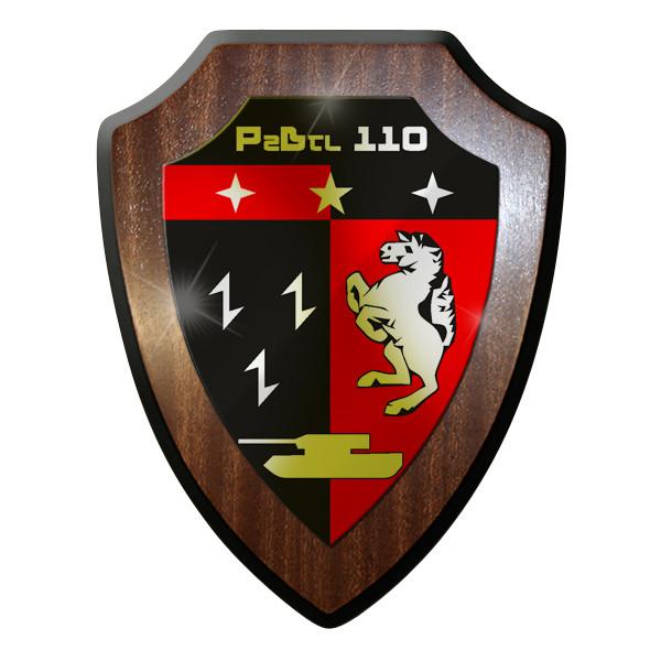 Wappenschild - PzLBtl 110 Panzerbataillon Panzer Bataillon Leopard #9307